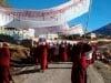 Demonstration for the release of Khenpo Kartse in December.